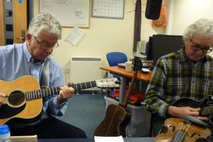 Gerry Cooper & Phil Snell - Studio Session